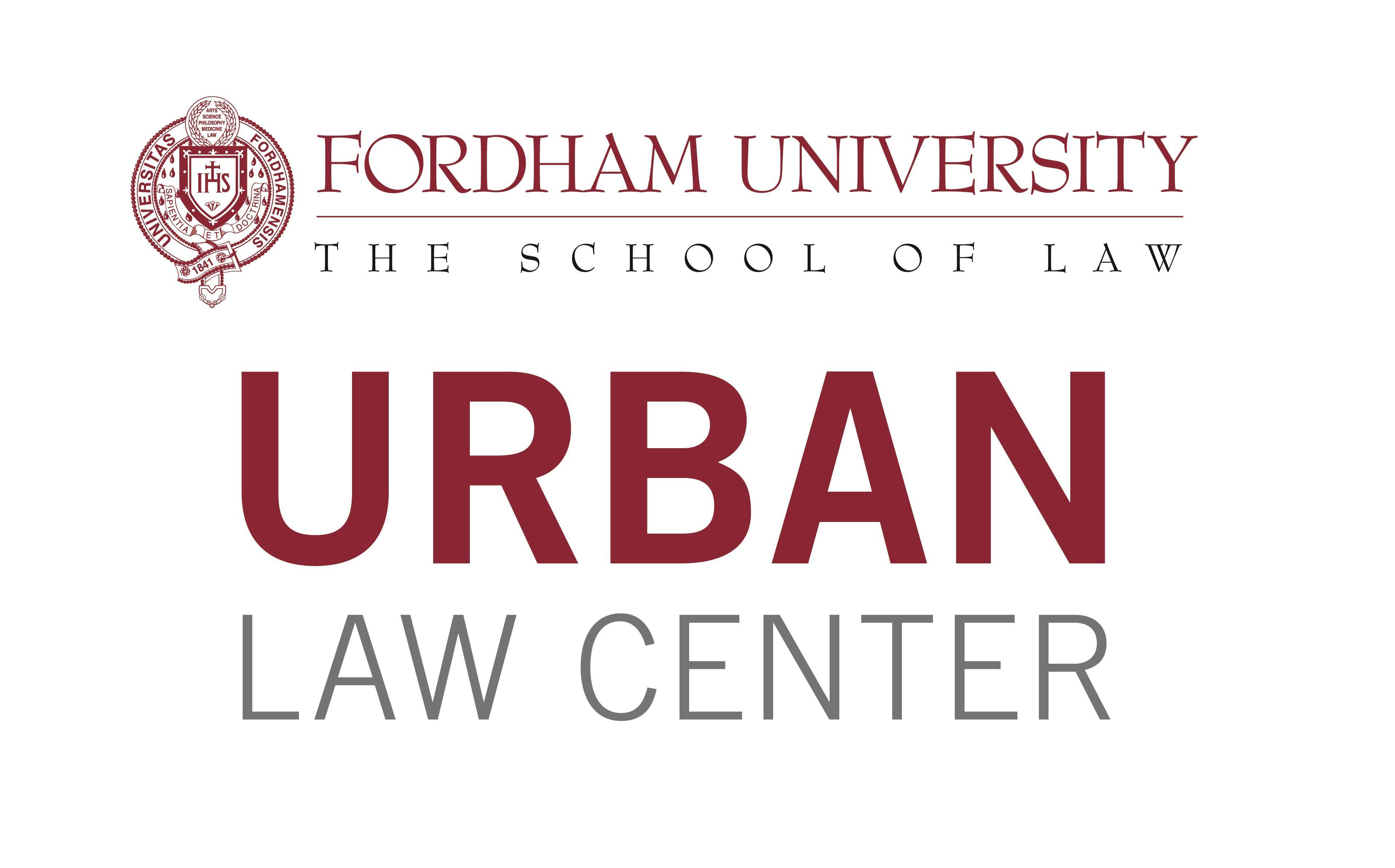 Urban Law Center Fordham Law